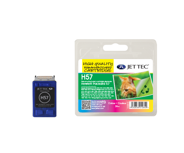Remanufactured HP57 (C6657AE) CMY Colour