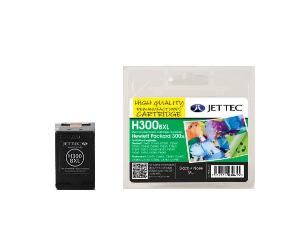 Remanufactured HP300XL Black High Capacity