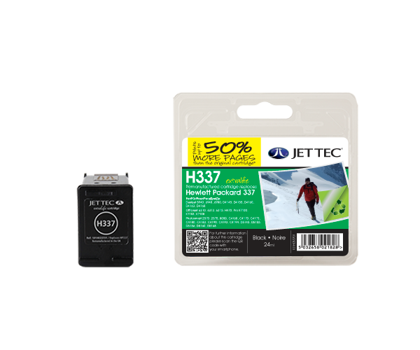 Remanufactured HP337 (C9364EE) Black