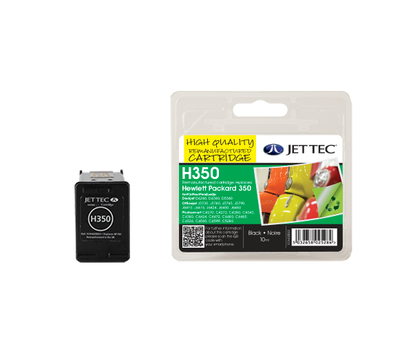 Remanufactured HP350 (CB335EE) Black