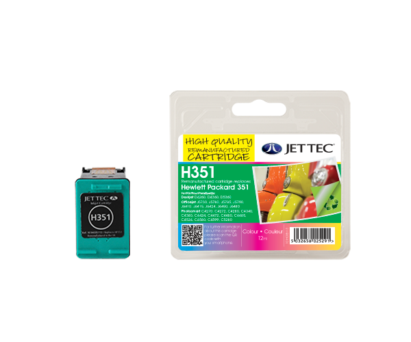 Remanufactured HP351 (CB337EE) CMY Colour