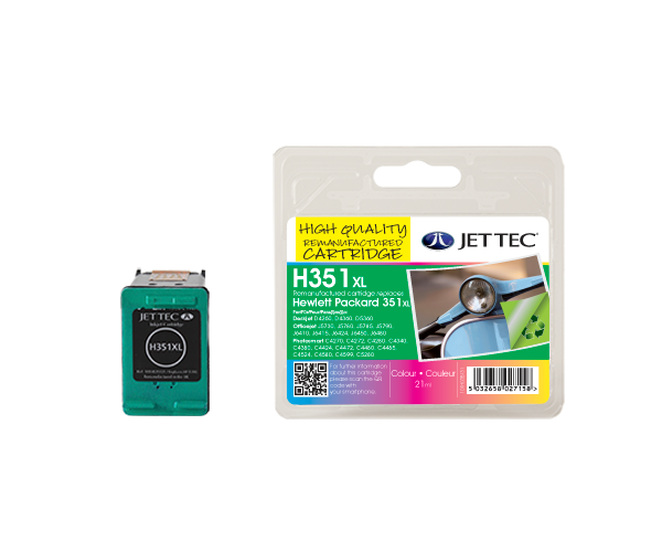 Remanufactured HP351XL (CB338EE) CMY Colour